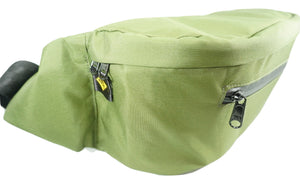 canguro bici bicicleta on the road bags verde militar