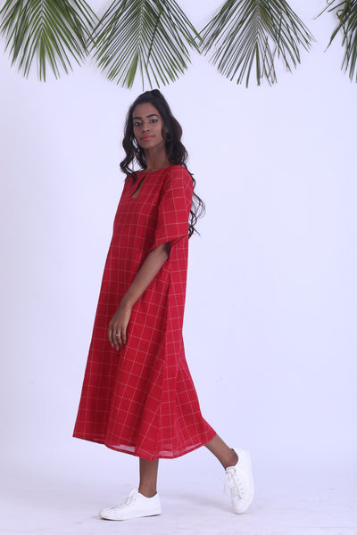 Handloom cotton dress