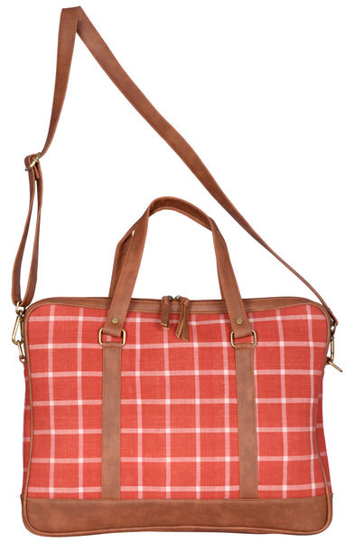 "Andhra Organic Cotton Laptop Bag (13"" to 15"")"