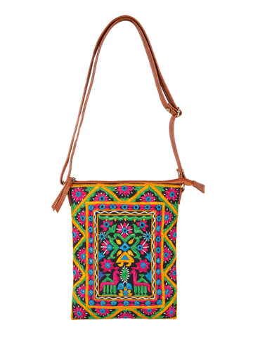 Hippie bag Hobo purse Crossbody bag Gypsy bag, cross body purse sling bag ,shoulder bags for women hand embroidered