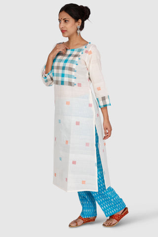 Handwoven Cotton Kurta