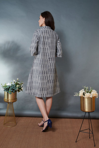 Ikat Jacket Dress