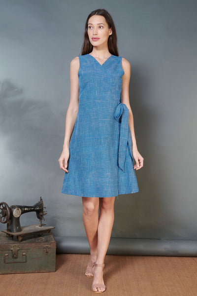 Khadi Wrap Dress