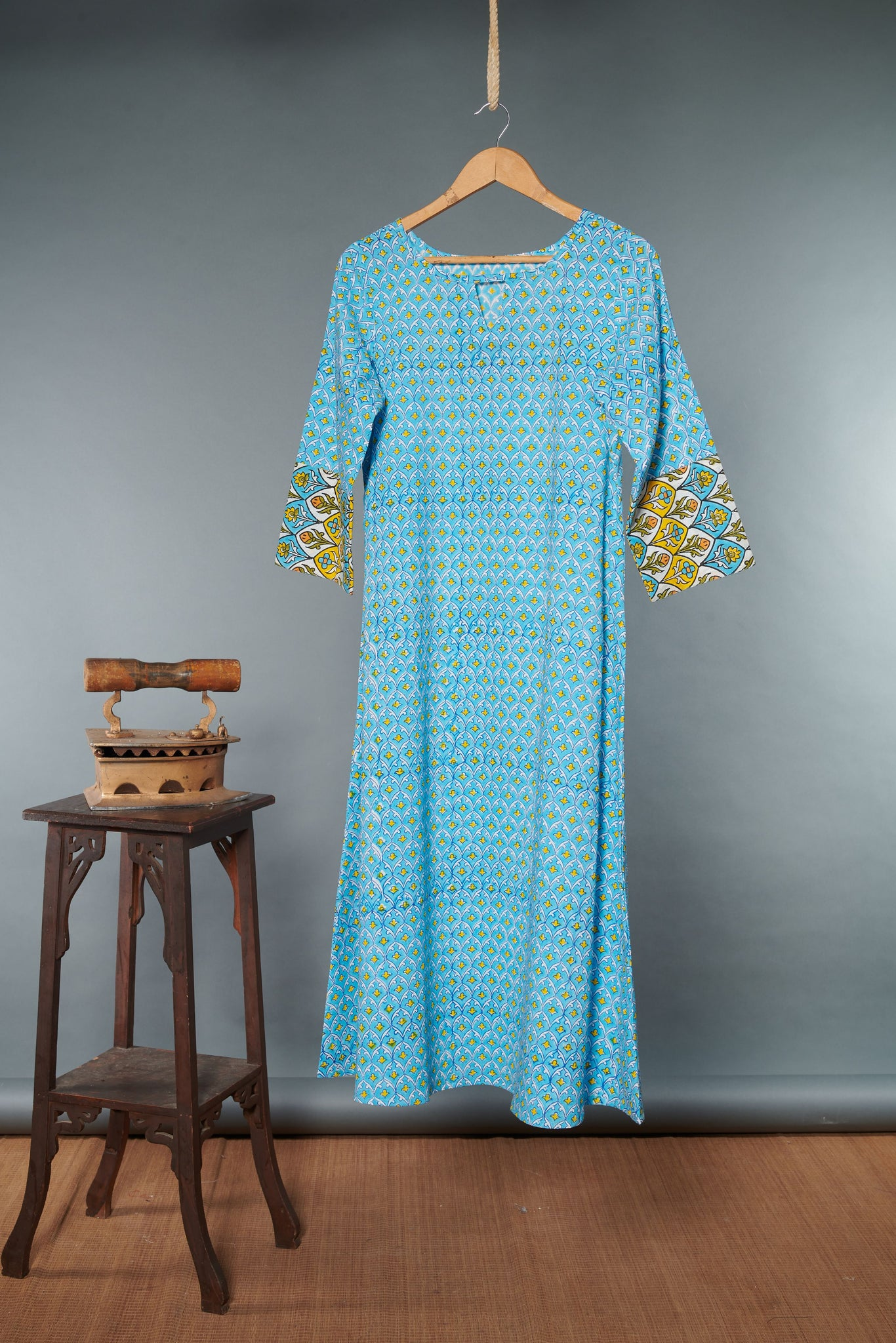 Block Printed Kurta