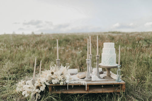 Prairie Candle Holders [RENTAL]