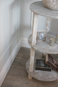 Ava 3 tier end table