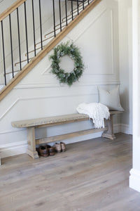 Jolie Farmhouse Bench