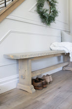 Load image into Gallery viewer, Jolie Farmhouse Bench