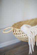 Load image into Gallery viewer, Hand woven natural basket