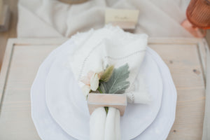 Ivory Cloth Napkins
