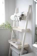 Load image into Gallery viewer, Bathroom ladder 2 shelf