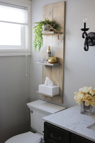Farmhouse Wall Shelf Trois