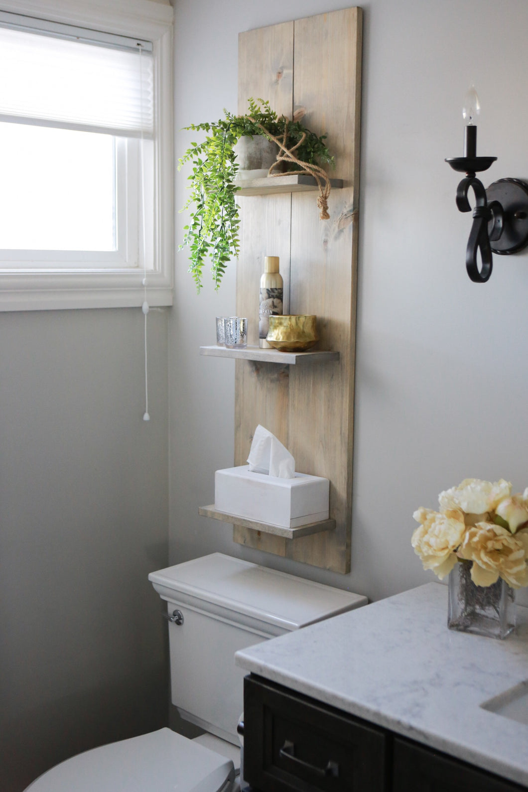 Farmhouse Wall 3 Shelf