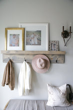 Load image into Gallery viewer, Heritage Photo Ledge & Coat Hooks