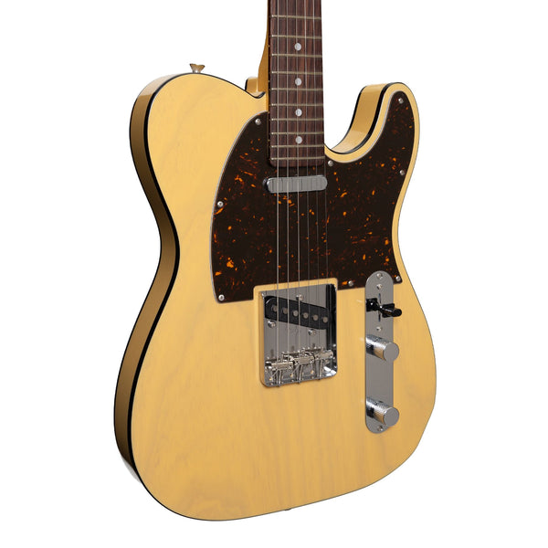 Tokai 'Vintage Series' ATE124B TE-Style Electric Guitar (Off-White Blonde)
