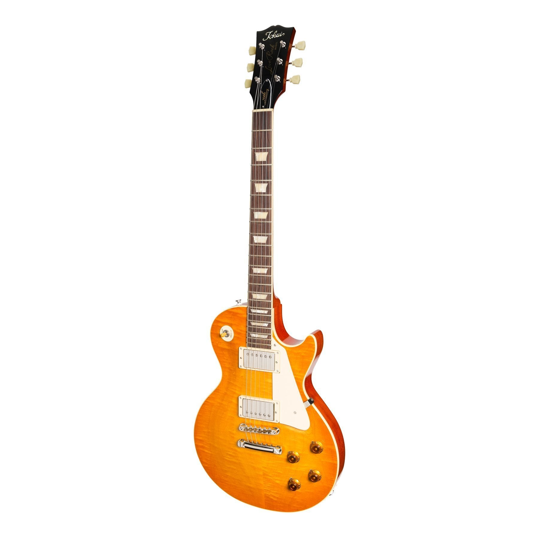 Tokai '70th Anniversary Edition' LS-186EF LP-Style Electric Guitar (Honey Sunburst)-LS-186EF-HB