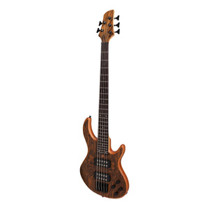 Tokai 'Legacy Series' 5-String Mahogany & Rosewood T-Style Contemporary Electric Bass Guitar (Natural Satin)-TL-CB3/5-NS