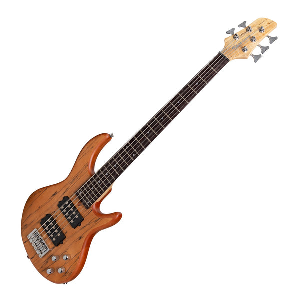 Tokai 'Legacy Series' 5-String Mahogany T-Style Contemporary Electric Bass Guitar (Natural Satin)-TL-CB1/5-NA