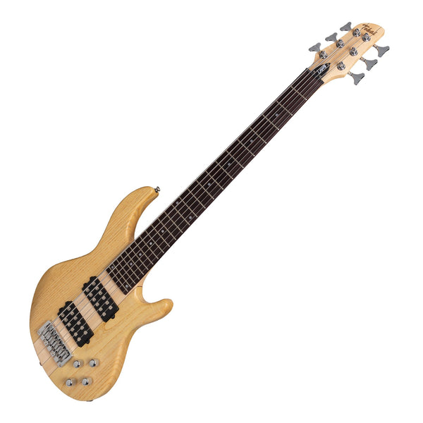 Tokai 'Legacy Series' 6-String Ash Neck-Through Contemporary Electric Bass Guitar (Natural Satin)-TL-CTNB3/6-NA