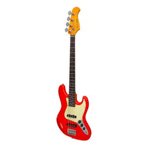 Tokai 'Legacy Series' JB-Style 'Relic' Electric Bass (Red)-TL-JBR-RED