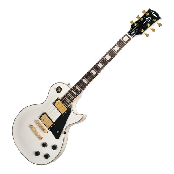 Tokai 'Legacy Series' LP-Custom Style Electric Guitar (White)-TL-LC-WH