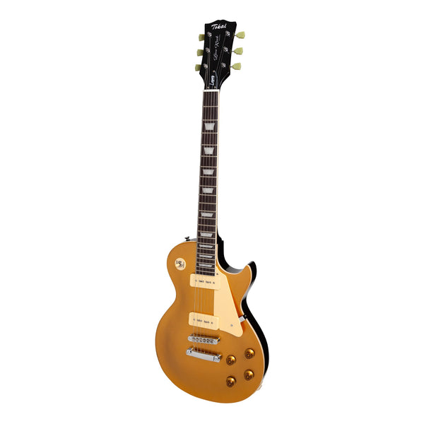 Tokai 'Legacy Series' LP-Style Electric Guitar (Gold Top)-TL-LSS-GT