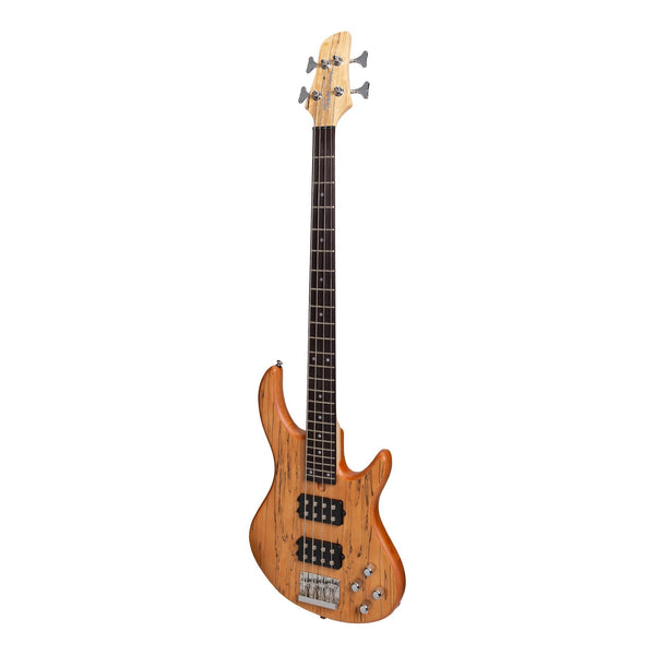 Tokai 'Legacy Series' Mahogany T-Style Contemporary Electric Bass Guitar (Natural Satin)-TL-CB1-NA