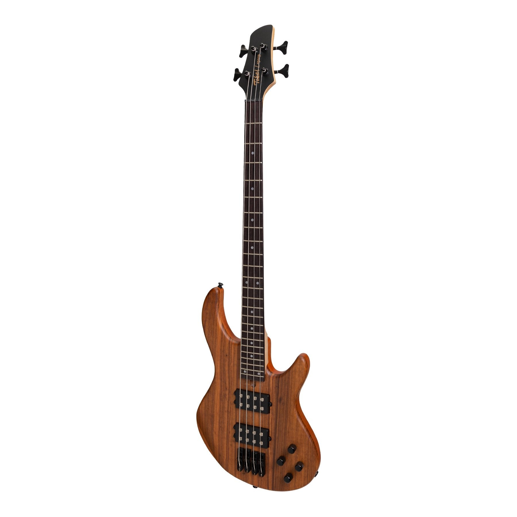 Tokai 'Legacy Series' Mahogany & Zebrano T-Style Contemporary Electric Bass Guitar (Natural Satin)-TL-CB2-NS