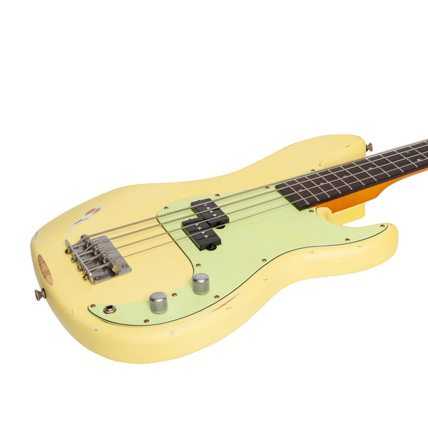 Tokai 'Legacy Series' P-Style 'Relic' Electric Bass (Cream)-TL-PBR-CRM