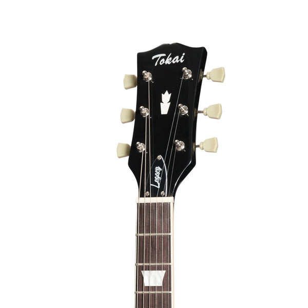 Tokai 'Legacy Series' SG-Style Electric Guitar (Black)-TL-SG-BB