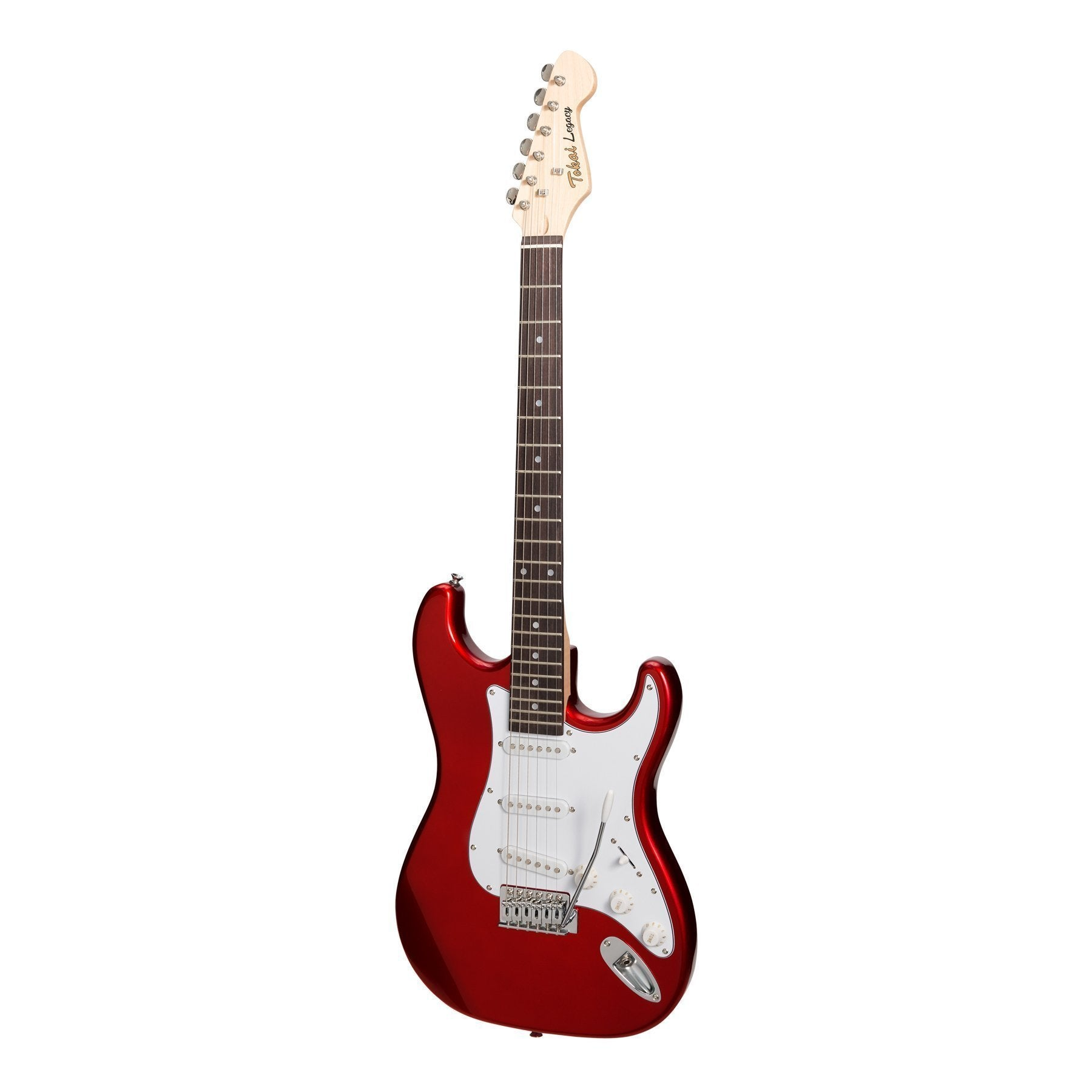 Tokai 'Legacy Series' ST-Style Electric Guitar (Candy Apple Red)-TL-ST-CAR/R