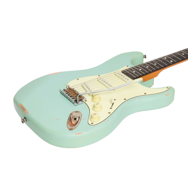 Tokai 'Legacy Series' ST-Style 'Relic' Electric Guitar (Blue)-TL-ST6-BLU