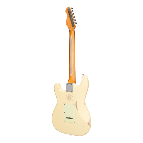 Tokai 'Legacy Series' ST-Style 'Relic' Electric Guitar (Cream)-TL-ST6-CRM