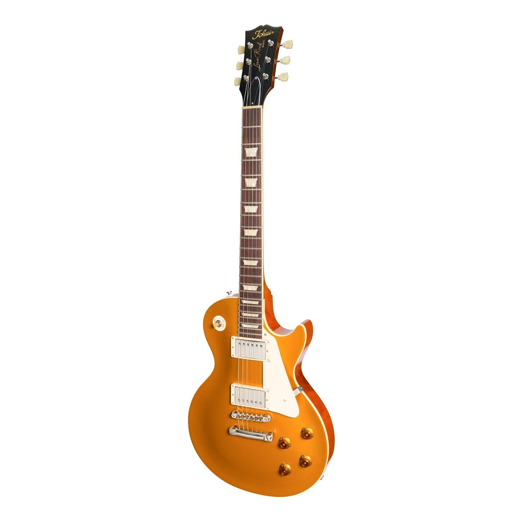Tokai 'Premium Series' LS-196 LP-Style Electric Guitar (Gold Top)-LS-196-GT