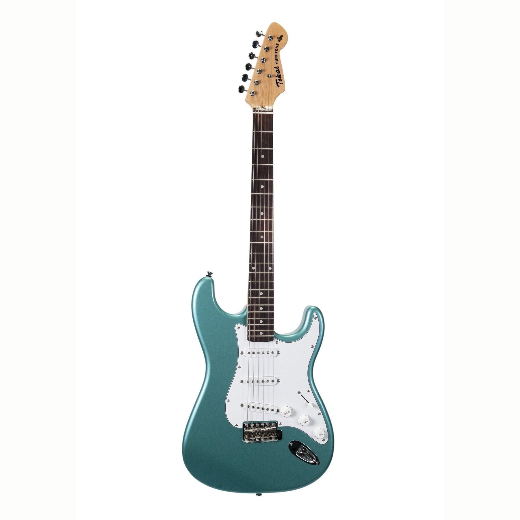 Tokai 'Surftone Series' AST-S38 ST-Style Electric Guitar (Ocean Turquoise Metallic)-AST-S38-OTM