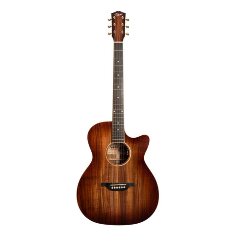 Tokai 'Terra Nova' K5 Contemporary Cutaway Acoustic-Electric Guitar (Bourbon Fade Natural Gloss)-TT-K5F2-NG