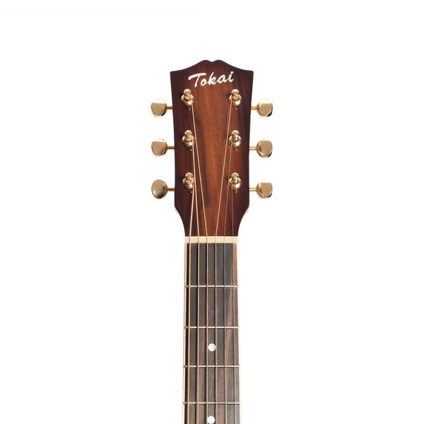 Tokai 'Terra Nova' K5 Mini Acoustic-Electric Guitar (Bourbon Fade Natural Gloss)-TT-K5SS2-NG
