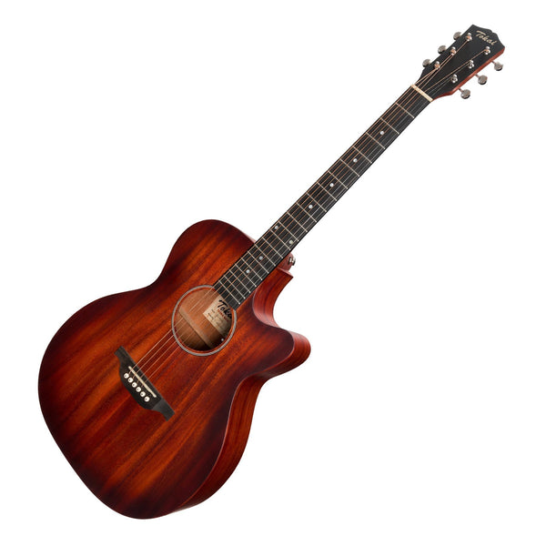 Tokai 'Terra Nova' M3 Contemporary Cutaway Acoustic-Electric Guitar (Vintage Sunburst Satin)-TT-M3F2-RSB