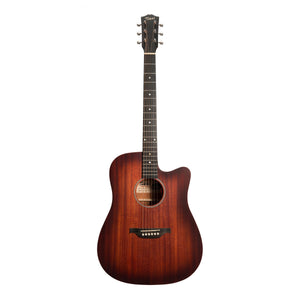 Tokai 'Terra Nova' M3 Dreadnought Cutaway Acoustic-Electric Guitar (Vintage Sunburst Satin)-TT-M3C2-RSB