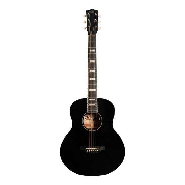 Tokai 'Terra Nova' S4 Mini Acoustic-Electric Guitar (Black Gloss)-TT-S4SS2-BKGL