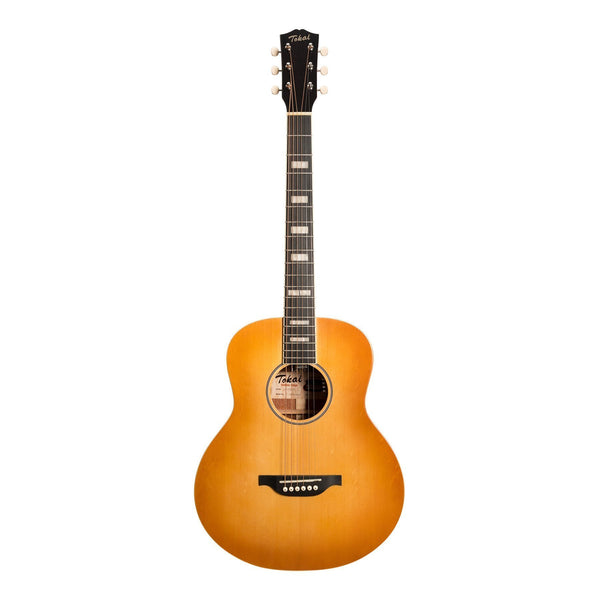 Tokai 'Terra Nova' S4 Mini Acoustic-Electric Guitar (Honey Burst)-TT-S4SS2-HBGL