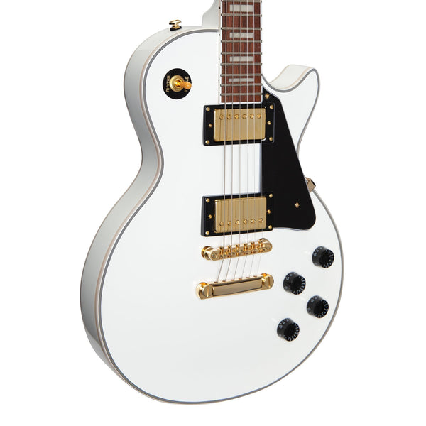 Tokai 'Traditional Series' ALC-62 LP-Custom Style Electric Guitar (Snow White)-ALC-62-SW