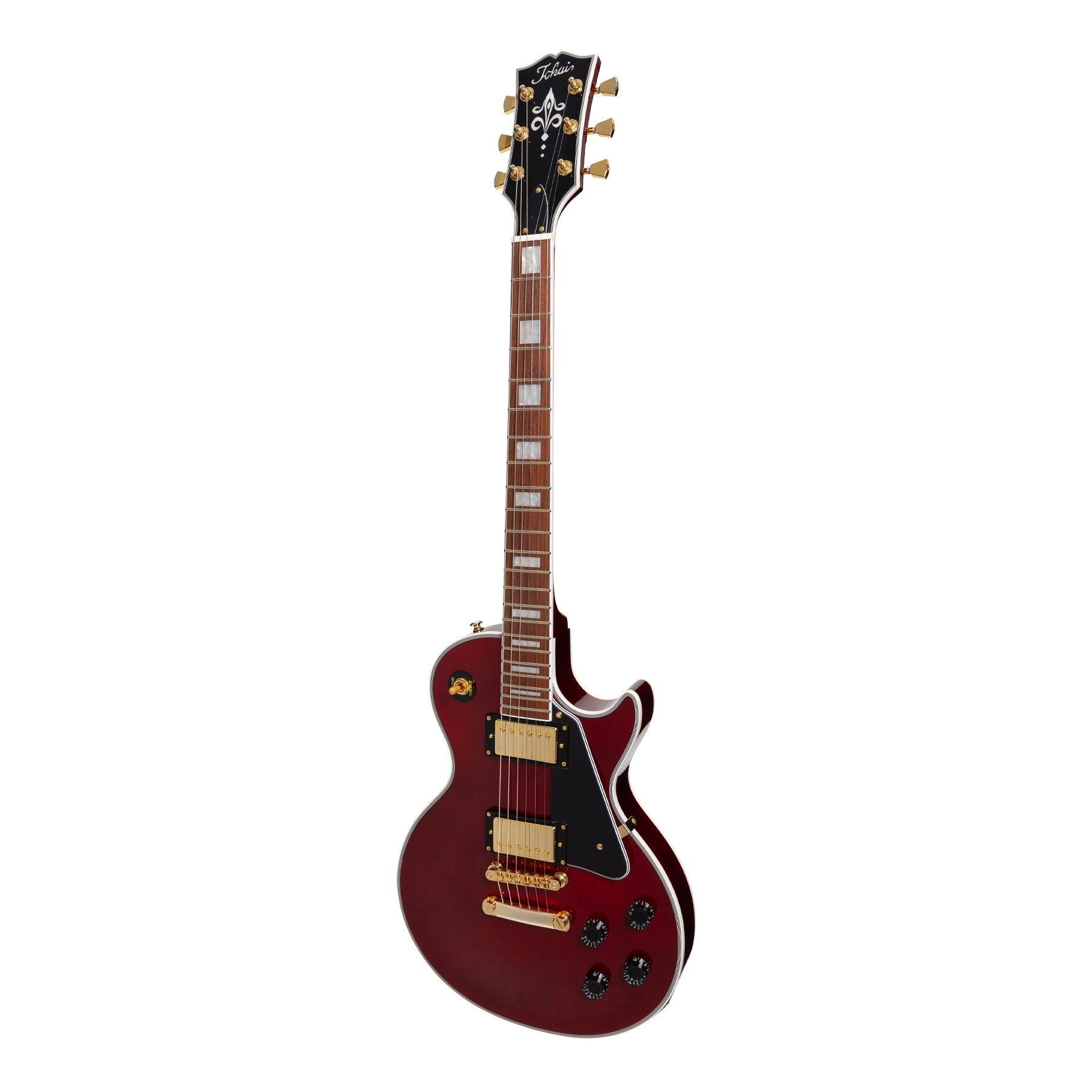 Tokai 'Traditional Series' ALC-62 LP-Custom Style Electric Guitar (Wine Red)-ALC-62-WR