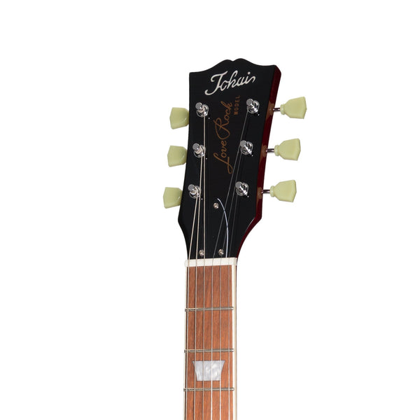 Tokai 'Traditional Series' ALS-62F LP-Style Electric Guitar (See-Through Red)-ALS-62F-SR