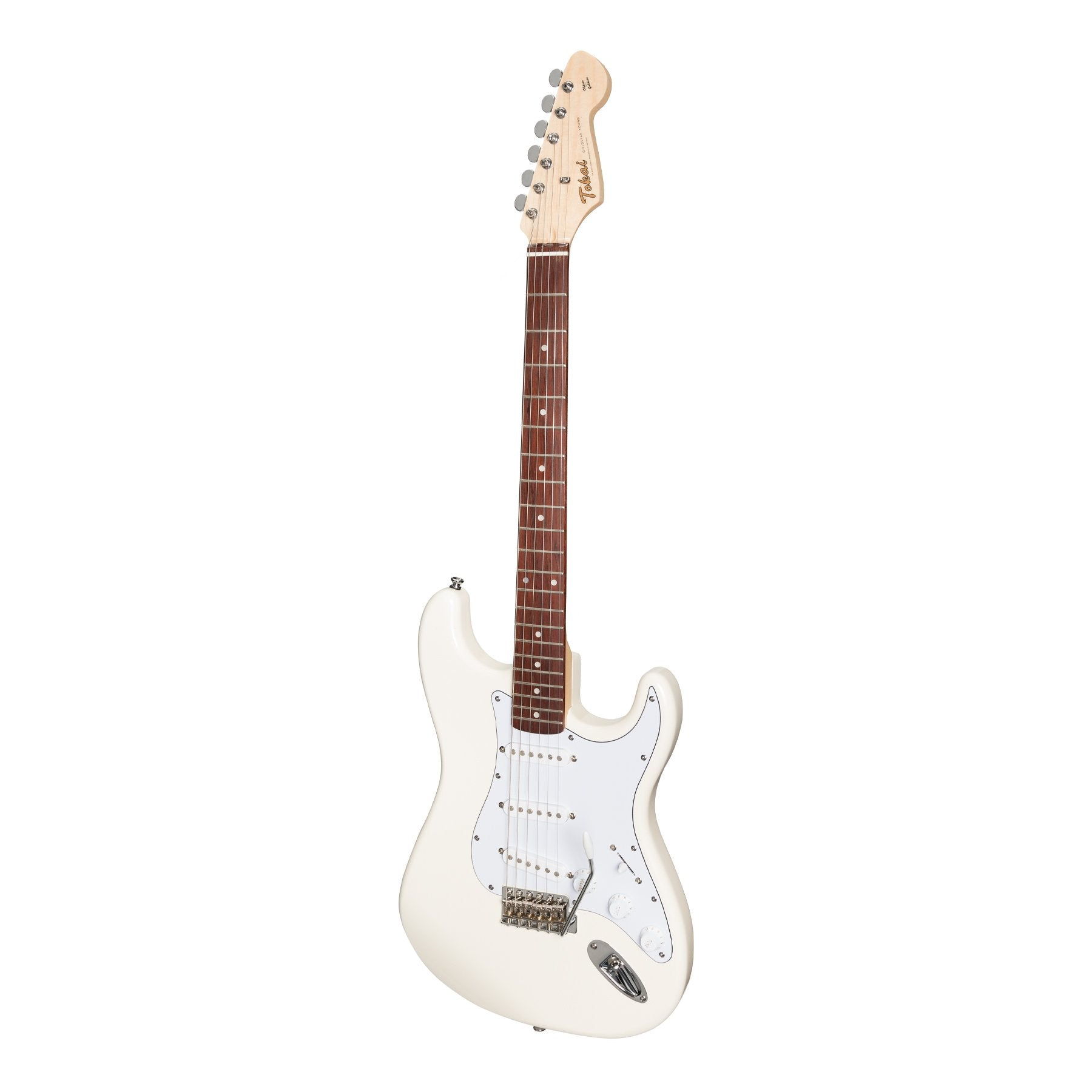 Tokai 'Traditional Series' AST-52 ST-Style Electric Guitar (Vintage White)-AST-52-VWH