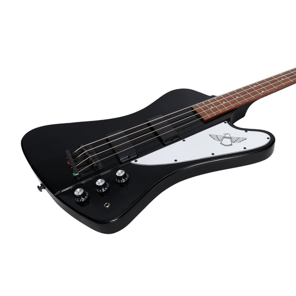Tokai 'Traditional Series' TB-65 T-Bird Style Bass Guitar (Black)-TB-65-BB