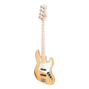 Tokai 'Vintage Series' AJB-118 'Jazz Sound' J-Style Electric Bass (Natural/Maple Fretboard)-AJB-118-N/M