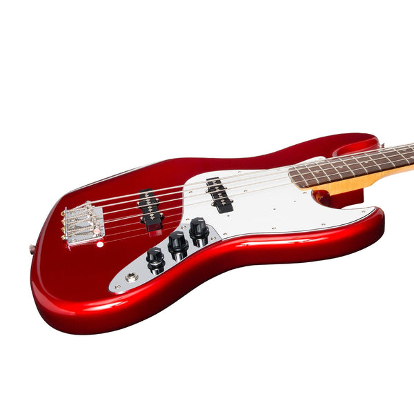 Tokai Vintage Series AJB97 'Jazz Sound' J-Style Electric Bass (Metallic Red)-AJB-97-MR/R-Australia