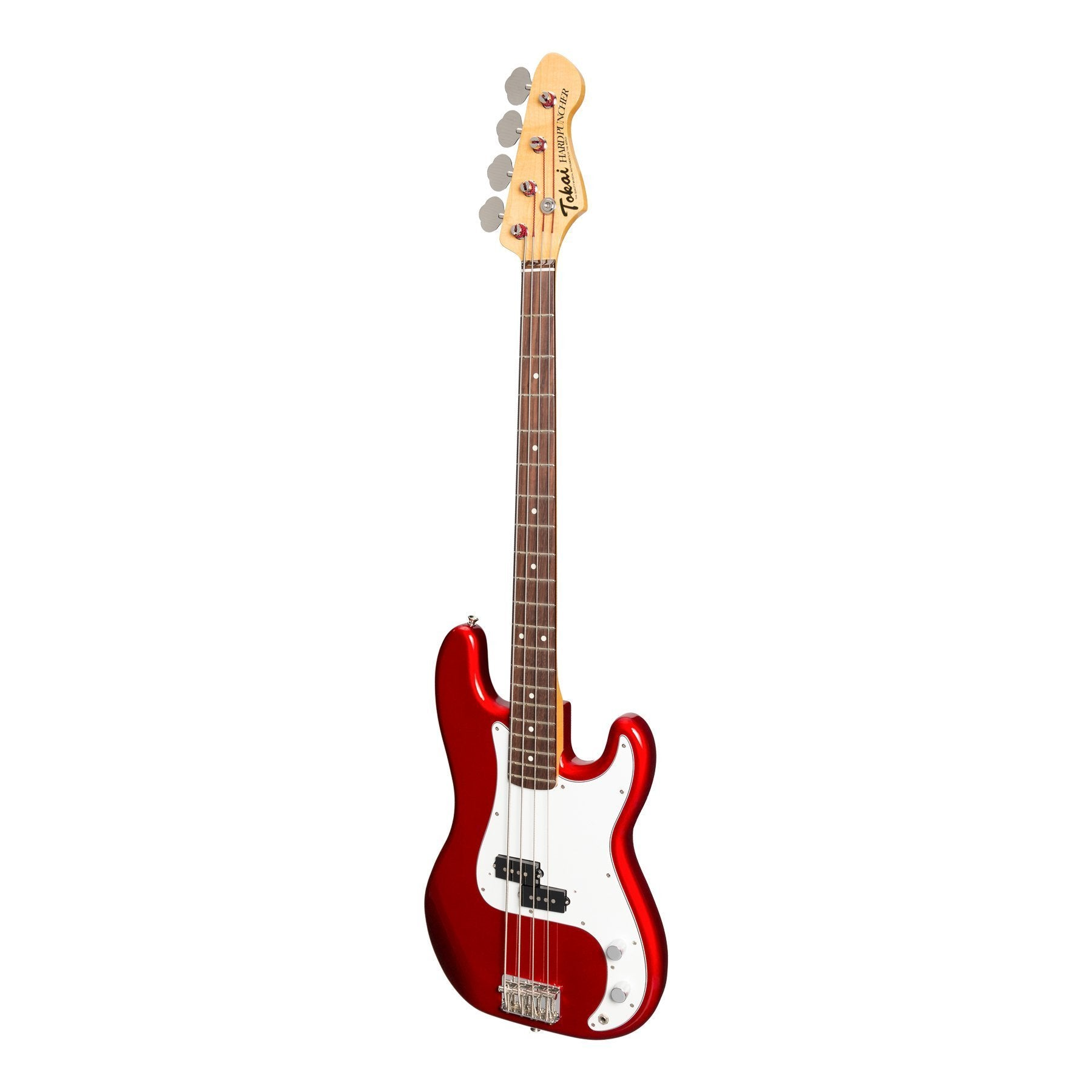 Tokai 'Vintage Series' APB-97 'Hard Puncher' P-Style Electric Bass (Metallic Red)-APB-97-MR/R