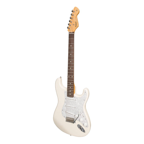 Tokai 'Vintage Series' AST-118 ST-Style Electric Guitar (Vintage White)-AST-118-VWH/R